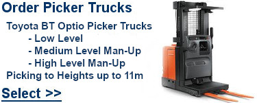 Select Toyota Order Picker Trucks